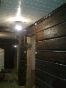 Ретро проводка в доме и бруса 170 кв.м.